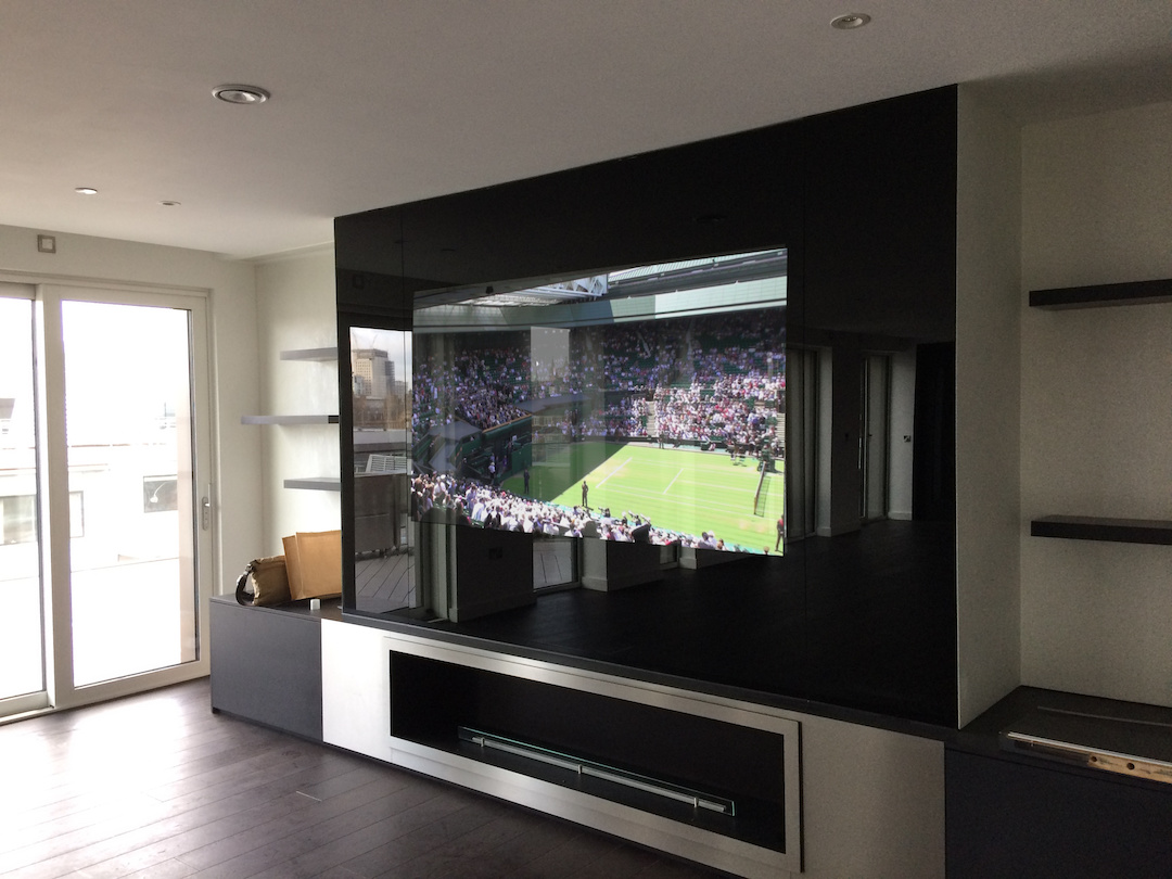 Fusion Coloured Glass TVs for any room of the Home