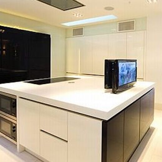 Kitchen Tvs Mirror Tvs Integrated Door Tv Splashback